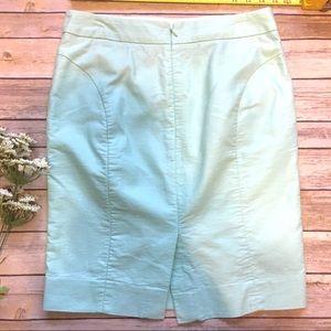 J. Crew Skirts - J Crew • Pencil Skirt Mint